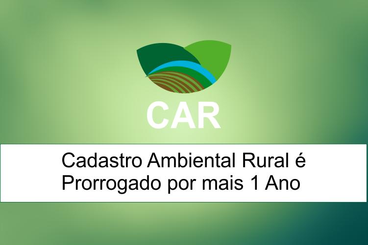 Prazo para efetuar o Cadastro Ambiental Rural vai até até 6 de maio de 2016